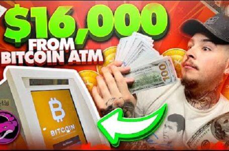 Popular Youtuber ATM'leri Kullanarak 16 Bin Dolar Değerindeki Bitcoini Nakite Çevirdi