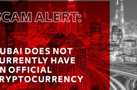 Dubai DubaiCoin haberleri bir aldatmaca bir ilgimiz yok diye uyardı