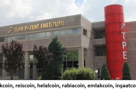 Türk Patent ve Marka Kurumu'na, 267 coin marka başvurusu yapıldı,