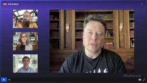 Elon Musk, Jack Dorsey konuşması